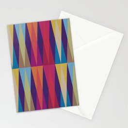Party Argyle on Purple Stationery Cards