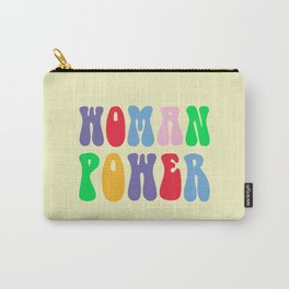 Woman Power Feminist Quote Carry-All Pouch