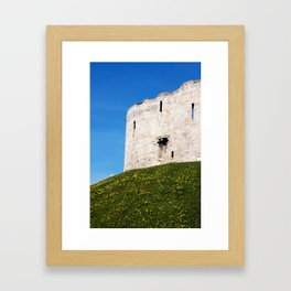 Cliffords Tower Framed Art Print
