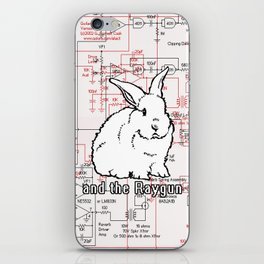 Rabbit, Rabbit, Rabbit iPhone Skin