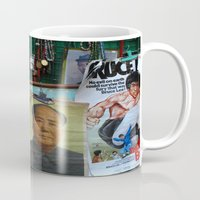 hong kong Mugs featuring hong kong by Teresa Gabry
