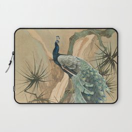 Peacock In The Pines Laptop Sleeve
