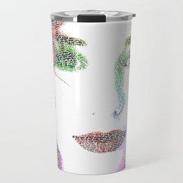 Tori Amos - word portrait Travel Mug