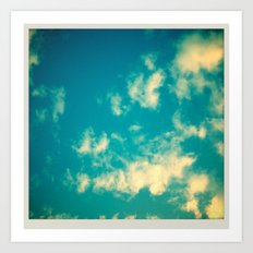 Perfect Sky? Art Print