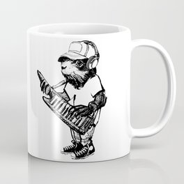 Hamster Superstar Coffee Mug