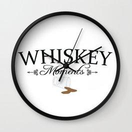 Whiskeymoments Wall Clock