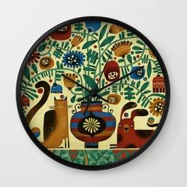 FLOWER ARRANGEMENT Wall Clock