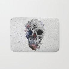 Floral Skull 2 Bath Mat
