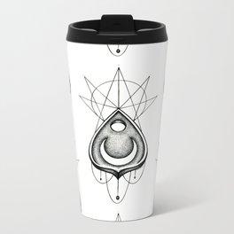 Dotwork Planchette Metal Travel Mug
