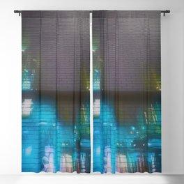 Graffiti Street Scene Pastels Blackout Curtain