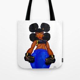 Tough Girl Tote Bag