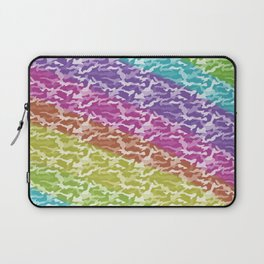 Rainbow Camo Laptop Sleeve