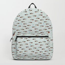 Neon Tetra Fishies Backpack