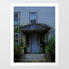 Anybody home? Art Print