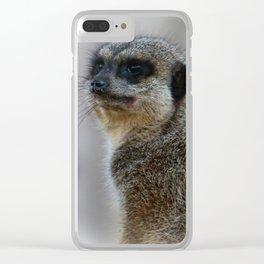 meerkat Clear iPhone Case