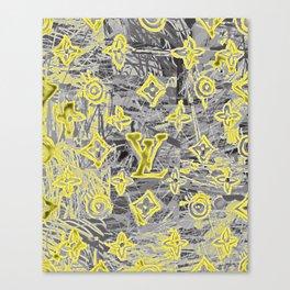 LV NEONIZED Canvas Print