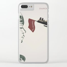forest girl and gung Clear iPhone Case
