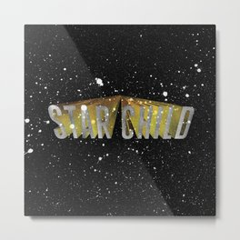 Star Child Metal Print