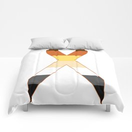 Bear Ribbon Comforters