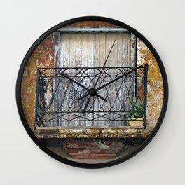 Balcony Wall Clock