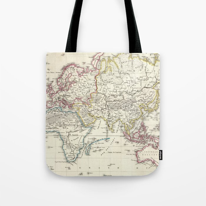 Vintage Map of The World (1816) Tote Bag