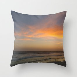 County Line Throw Pillow