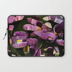Abstract Wldflowers Laptop Sleeve
