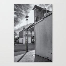 A Glimpse Canvas Print
