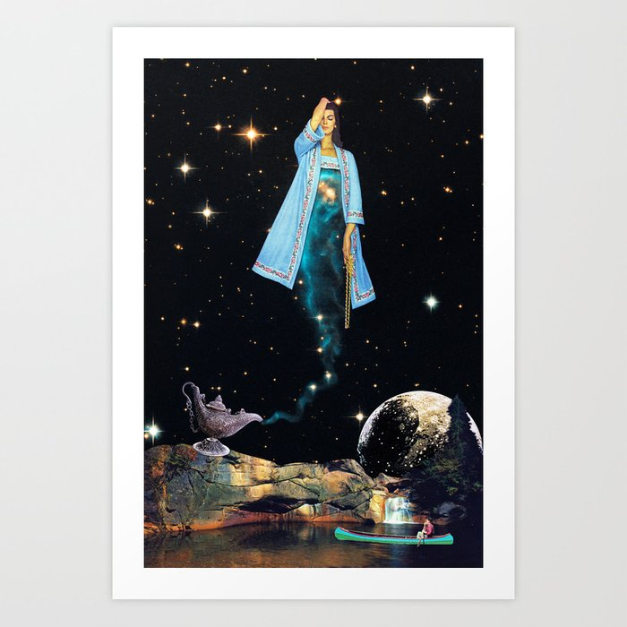 The Genie Art Print