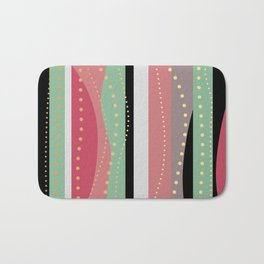 WAVING COLORS Bath Mat