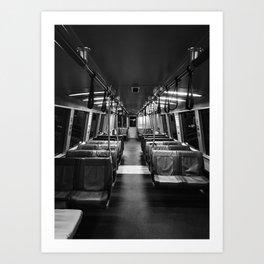 SF Transit Art Print