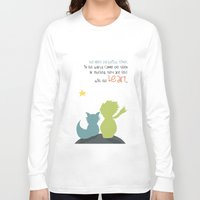 le petit prince Long Sleeve T-shirts featuring LE PETIT PRINCE -the little prince- by Chara Anagnostopoulou