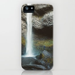 Giant Waterfall in the Columbia Gorge iPhone Case