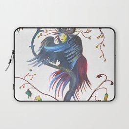 Gamaun Halloween Prophetic Raven Vector Laptop Sleeve