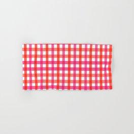 Gingham: Strawberry Flavor Hand & Bath Towel