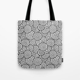 Chinese/Waves Tote Bag