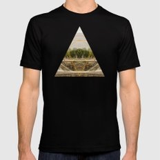 a passage through time Mens Fitted Tee Black MEDIUM