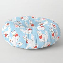 Kitsune - Japanese Messenger Fox Floor Pillow