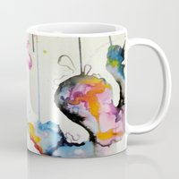 mew Mugs featuring Mew by Shannon Gordy