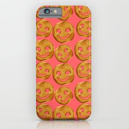 Happy Face Fries iPhone Case