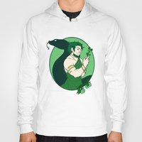 loki Hoodies featuring Loki by Tess-Zombie