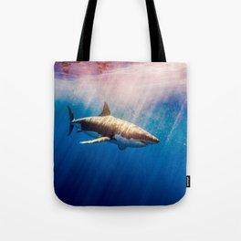 Great White Shark-1 Tote Bag
