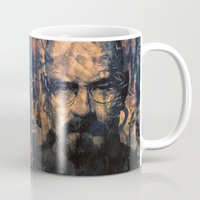 walter white Mugs featuring Walter White by Sirenphotos