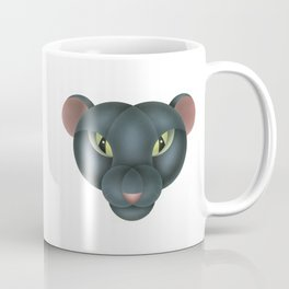 Compasses-panther Coffee Mug