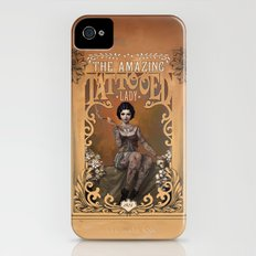 The Amazing Tattooed Lady iPhone (4, 4s) Slim Case