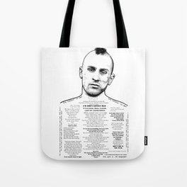 Travis Bickle - God's Lonely Man - Ink'd Series Tote Bag
