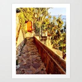 Doors to Amalfi Art Print