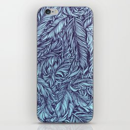 Feather story iPhone Skin