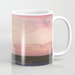 Beachy Birdy Sunset Coffee Mug