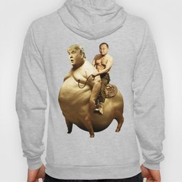 Putin riding Trump Hoody